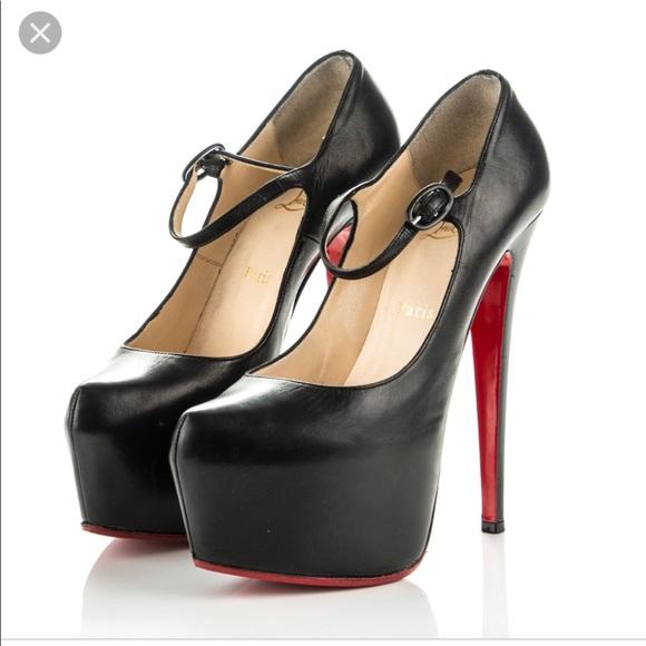 10be53b15ae6 Christian Louboutin Shoes - Christian Louboutin- Lady Daf Kid 160 Pumps